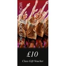 £10 Class Gift Voucher
