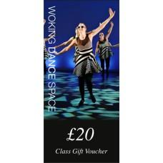 £20 Class Gift Voucher